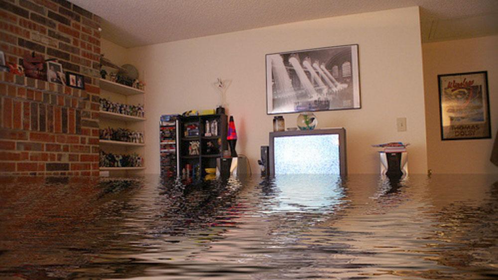 потоп в доме