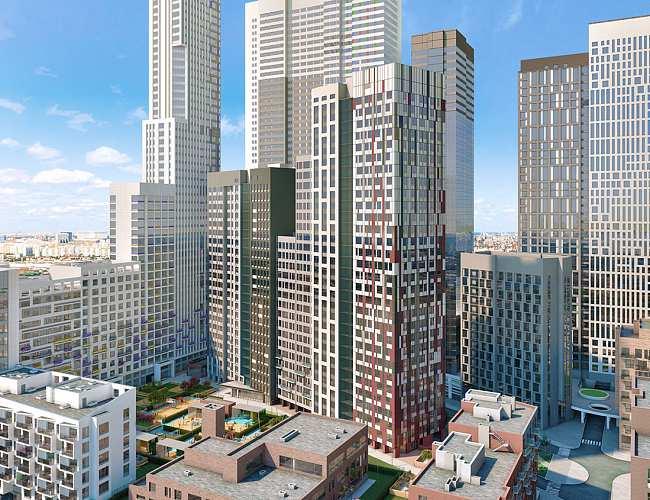 ЖК Headliner (Хедлайнер) - купить квартиру в жилом комплексе Хедлайнер (Центр Сити) в Москве, выгодные цены от Метриум